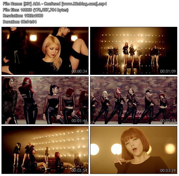 (MV) AOA - Confused (HD 1080p Youtube)