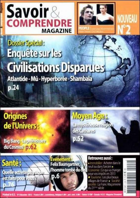 Savoir & Comprendre Mag N°2 Décembre 2012