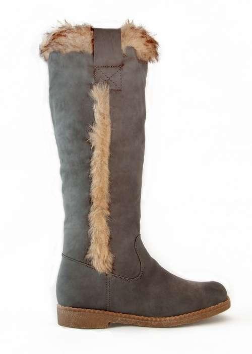 damen schuhe winter stiefel boots warm gef ttert snow fur. Black Bedroom Furniture Sets. Home Design Ideas