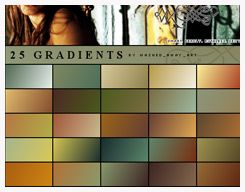 Gradient Set by anolinde @ deviantart