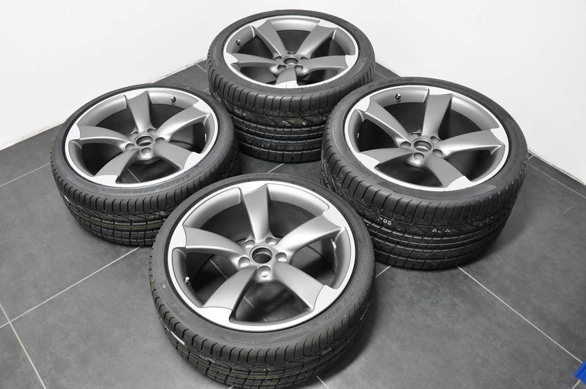 Fs New Audi R8 Titan Rotor Wheels With New Pirelli Pzero