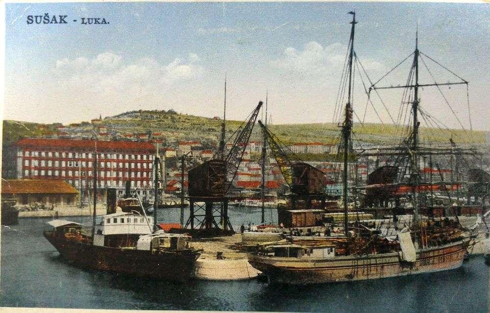 stare razglednice Sušak