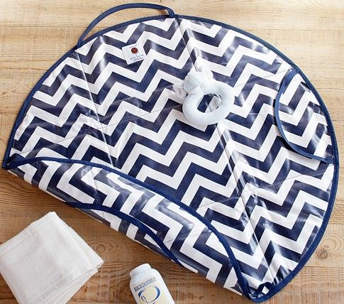 Chevron changing pad on Cool Mom Picks