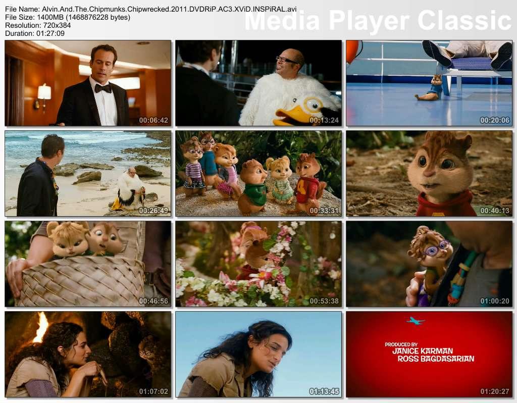Alvin ve Sincaplar 3: Eğlence Adası - 2011 DVDRip XviD AC3 - Türkçe Altyazılı indir