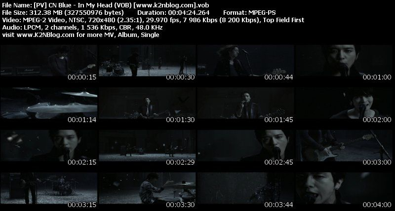 Download [pv] cn blue – in my head (vob).