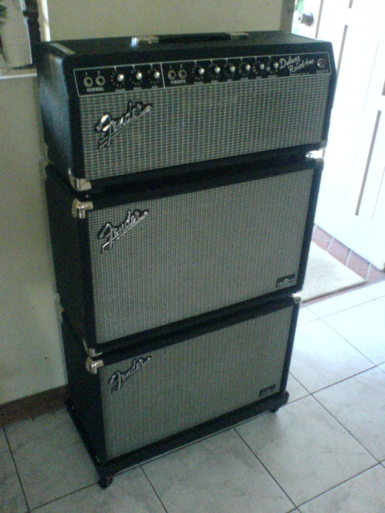 fender twin reverb head conversion the gear page. Black Bedroom Furniture Sets. Home Design Ideas