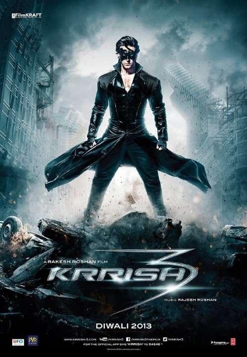 Krrish 3 - 2013 DVDRip XviD AC3 - Türkçe Altyazılı Tek Link indir