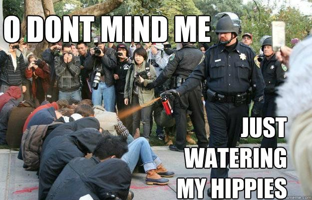 Watering My Hippies